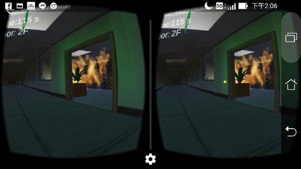 VR Fire Evacuation Simulator
