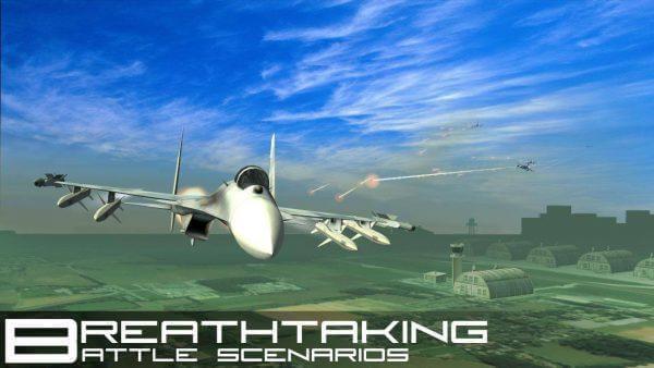 VR Jet Fighter Simulation