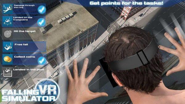 Falling VR Simulator