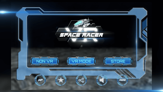 VRX Space Racer – Free VR Racing Games