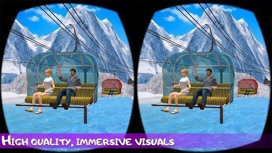 VR Chair Lift Crazy Ride