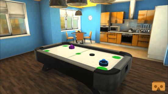 VR Air Hockey