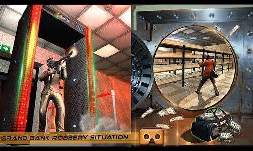 VR Secret Agent Robbery Escape
