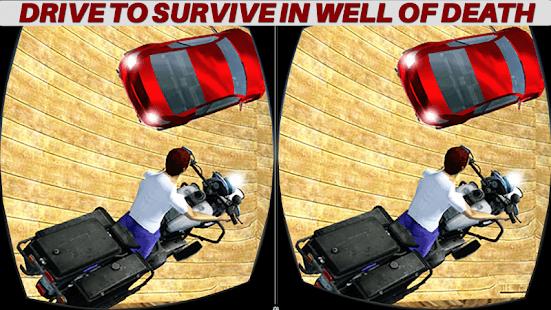VR Well of Death Motor Rider