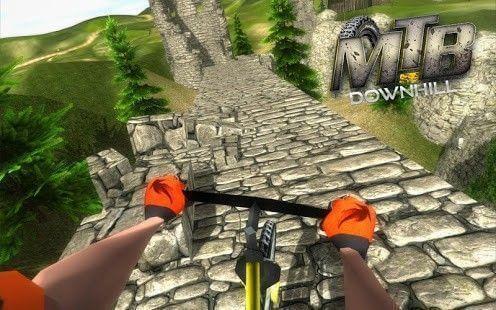 VR – MTB Downhill bicycle racing : VR Bicycling