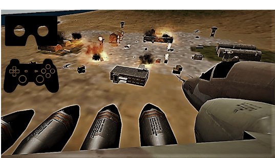 Modern Aircraft Strike VR GamePad