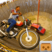 VR Well of Death Motor Rider