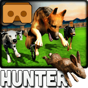 VR Racing Dog Bunny Hunter: Crazy Hunter Greyhound