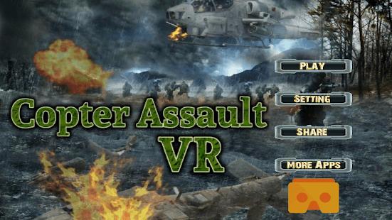 3D Copter Assault VR 360°