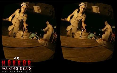 VR Horror Walking Dead into the Hospital 360
