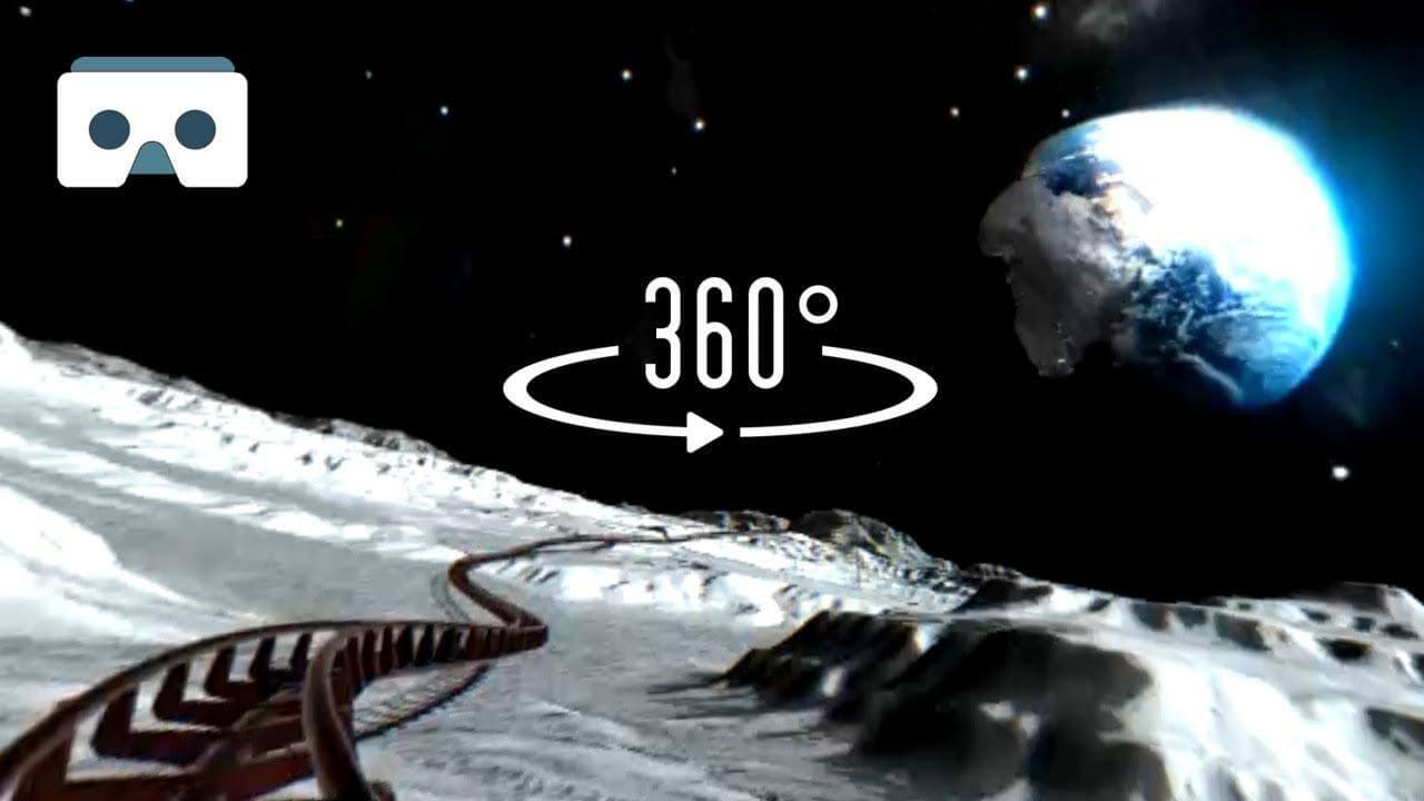 فیلم 360 درجه هیجانی ترین در ماه