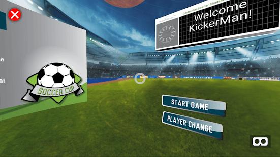 Kick-It-VR Football Game