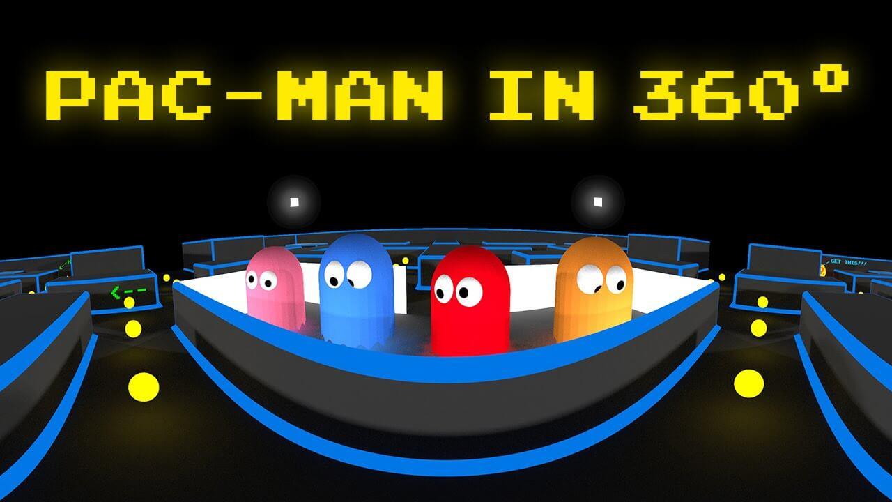 maxresdedfault - انیمیشن بازی خاطره انگیز Pac-Man واقعیت مجازی