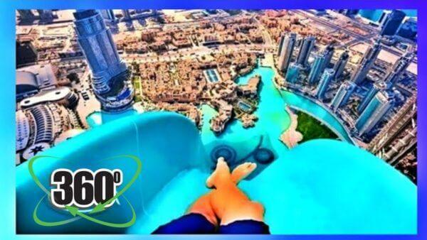 maxresdefault 7 600x338 - فیلم واقعیت مجازی 4k سفر هیجانی با سرسره آبی