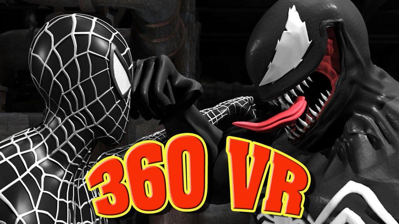 photo 2018 11 02 18 32 14 - فیلم واقعیت مجازی مبارزه venom و spider man