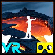 VR Volcano Rope Crossing