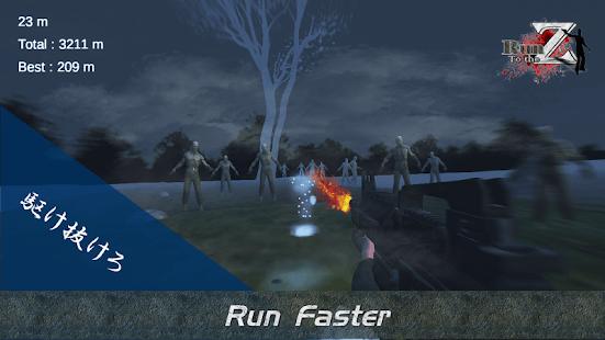 VR Run to Zombie