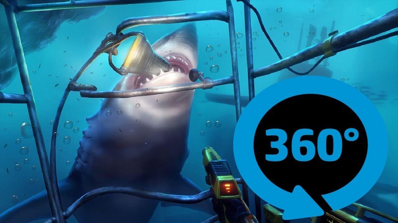 maxresdefault 16 - فیلم 4k واقعیت مجازی حمله کوسه