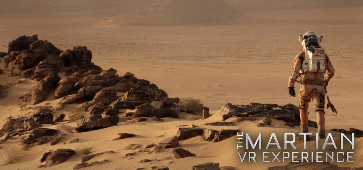 The Martian VR Experience poster - مستند واقعیت مجازی از مریخ