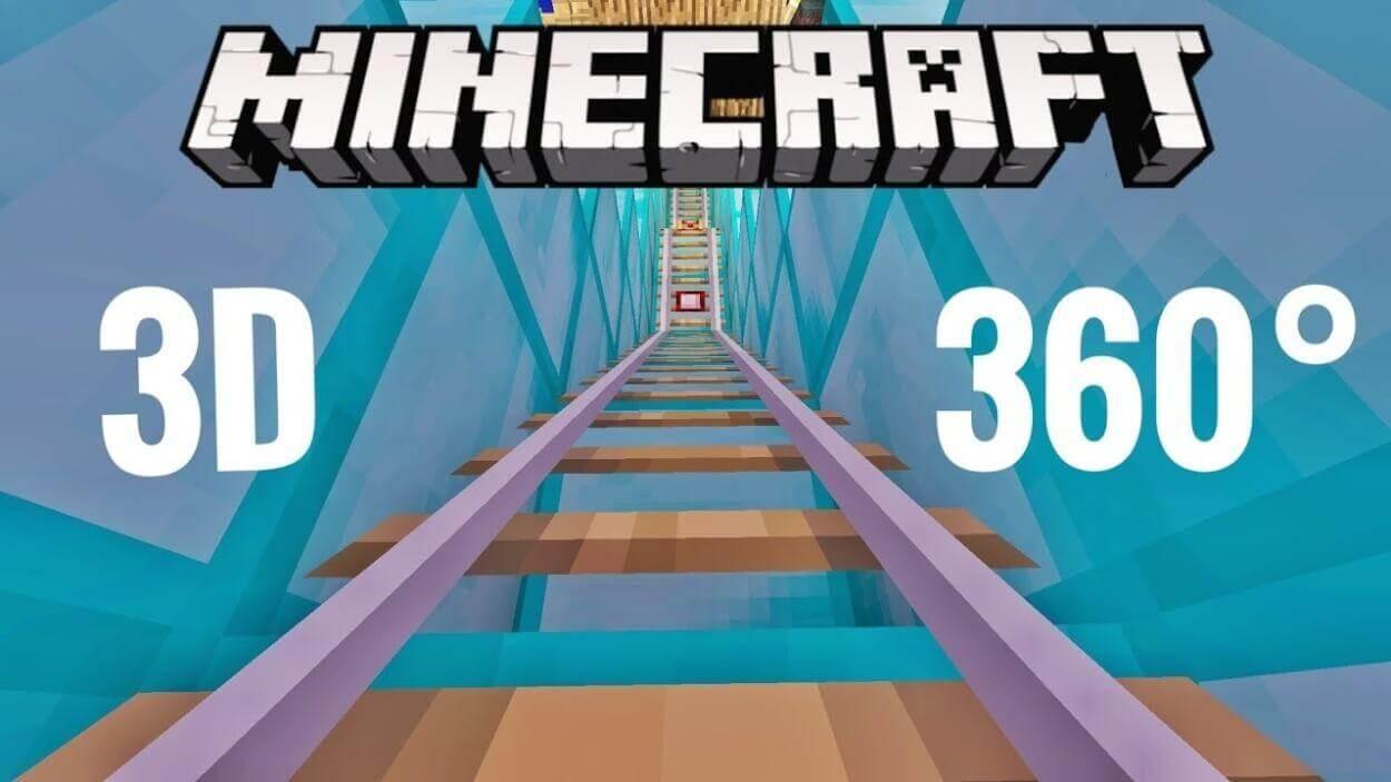 1 - فیلم واقعیت مجازی ترین Minecraft