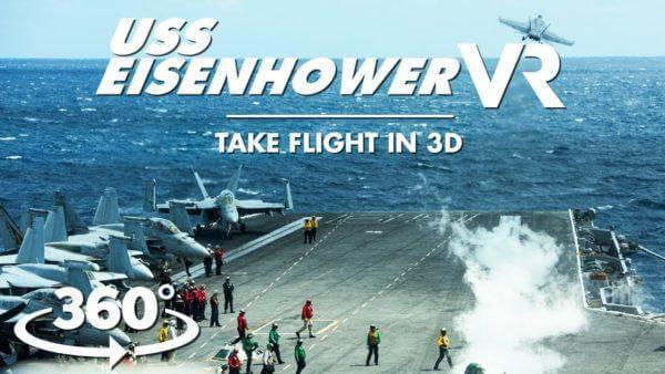 maxresdefault 4 600x338 - فیلم 4k واقعیت مجازی کشتی جنگی uss eisenhower