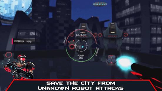 VR AR Dimension – Robot War Galaxy Shooter