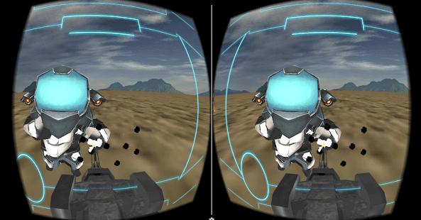 VR Alien Bot Shooter 3D