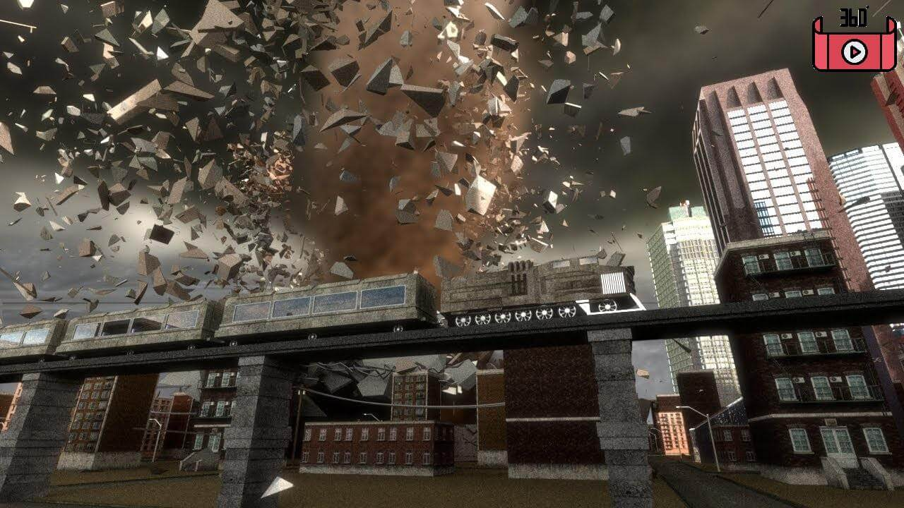 maxresdefault 8 - فیلم واقعیت مجازی 4k تورنادو در هلیکوپتر