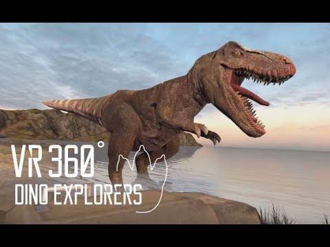 0 - فیلم واقعیت مجازی 4k سرزمین دایناسور ها