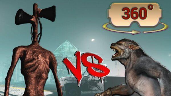photo 2020 10 16 19 22 43 600x338 - فیلم واقعیت مجازی 4k مبارزه گرگینه با Siren Head