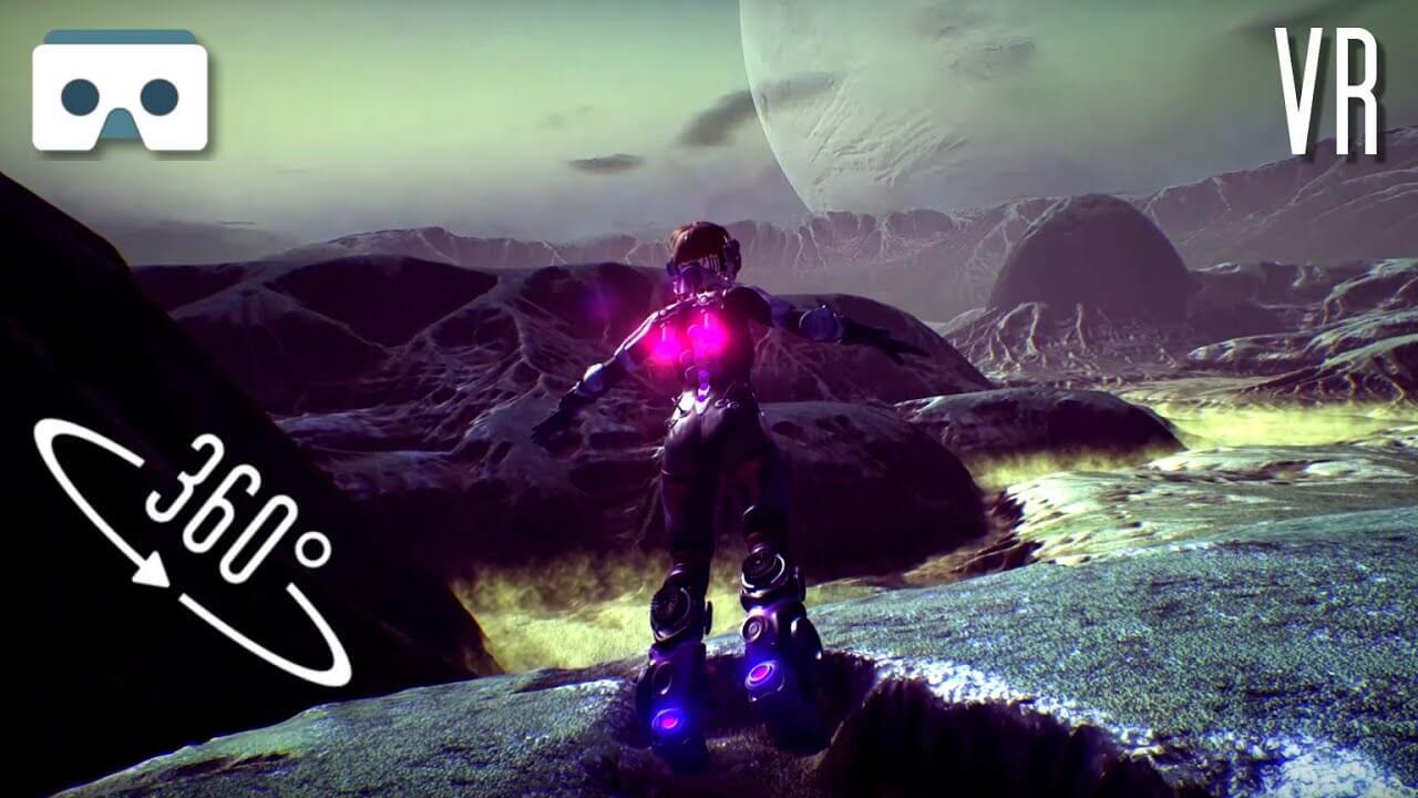 maxresdefault 3 - فیلم واقعیت مجازی آرامبخش معلق در فضا