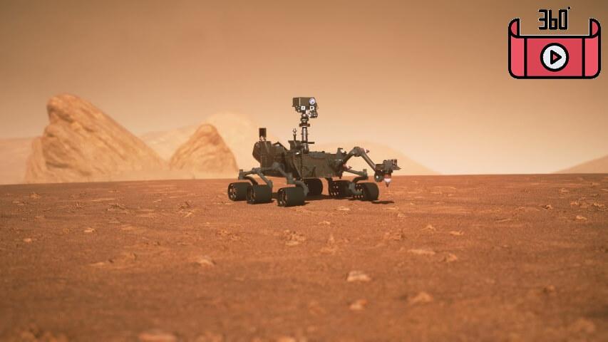 1 - فیلم واقعیت مجازی مریخ نورد Rover