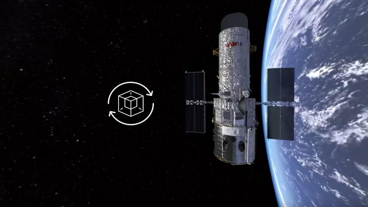 maxresdefault 14 - فیلم واقعیت مجازی ماهواره هابل