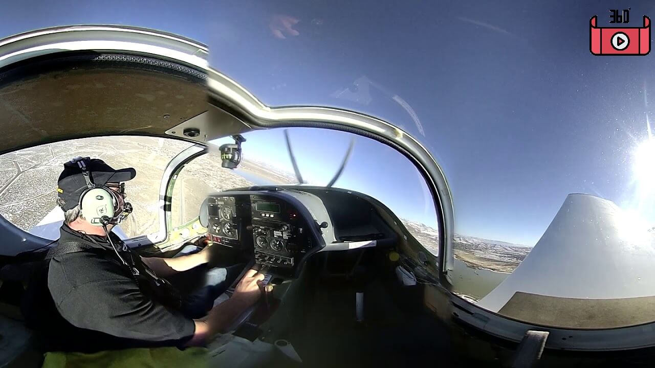 maxresdefault 11 - فیلم واقعیت مجازی پرواز با هواپیمای ملخی Monowheel