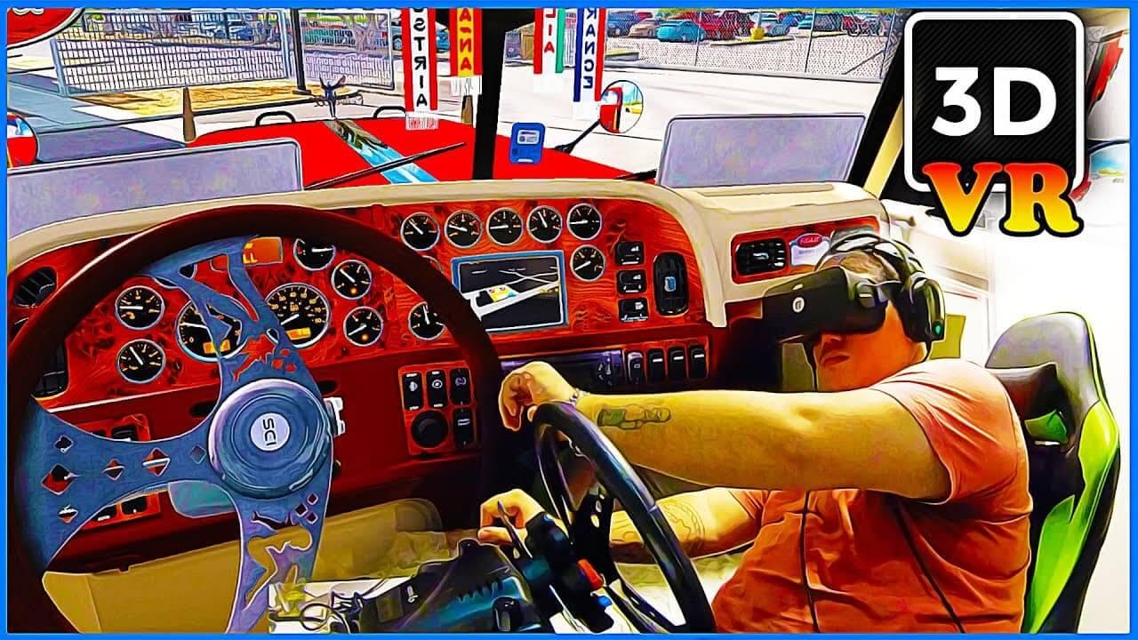 photo 2021 04 01 20 14 03 - فیلم سه بعدی واقعیت مجازی Driving Peterbilt